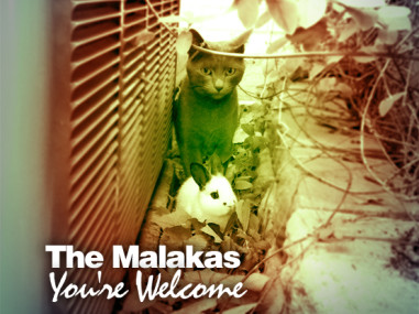The Malakas - You're Welcome_CD Cover